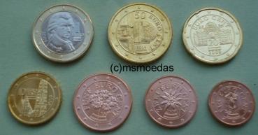 Msmoedas Oesterreich Austria österreich Euromünzen Kms 7 X