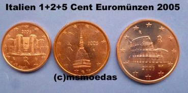 Msmoedas Italien 125 Euro Cent Prägejahr 2005