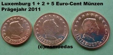 Msmoedas Luxemburg 125 Euro Cent Prägejahr 2011