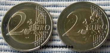 Msmoedas Deutschland 2 Euro Gedenkmünze Fehlprägung 2008 Michel F