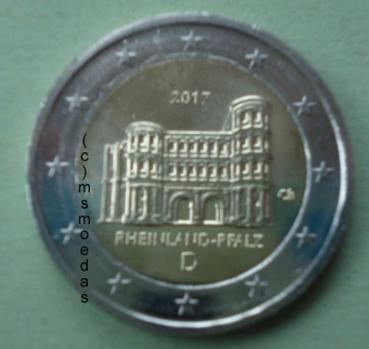 Msmoedas Deutschland 2 Euro Gedenkmünze 2017 Rheinland Pfalz