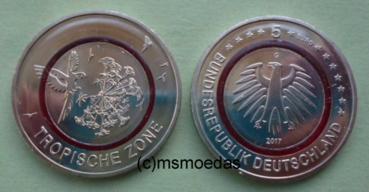 Msmoedas Deutschland 5 Euro Sondermünzen Stempelglanz