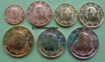Msmoedas Belgien Euromünzen Kms 7 Münzenprägejahr 2011 1