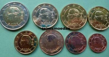 Msmoedas Belgien Euro Münzen 1 Cent Bis 2 Euro 2009 Bu