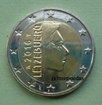 Msmoedas Luxemburg 2 Euro 2017 Kursmünze Euromünze