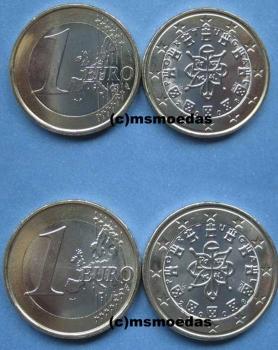 Msmoedas Portugal 1 Euro Kursmünze Euromünze Prägejahr 2008