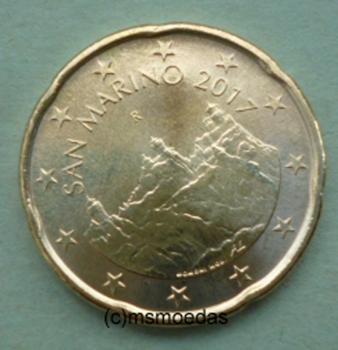 Msmoedas San Marino 20 Euro Cent Münze Euromünze Bankfrisch