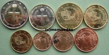 Msmoedas Zypern 8 Euromünze Prägejahr 2008
