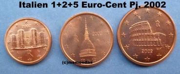Msmoedas Italien 125 Euro Cent Prägejahr 2002