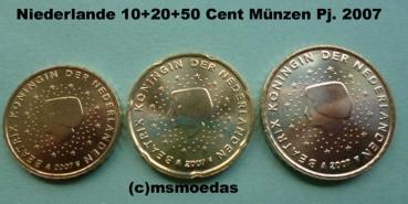 Msmoedas Niederlande 102050 Euro Cent Prägejahr 2007