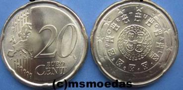 Msmoedas Portugal20 Euro Centmuenzeeuromuenze 2017
