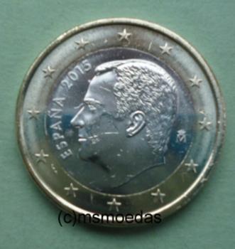Msmoedas Spanien 1 Euro Münze Euromünze Bankfrisch Unc