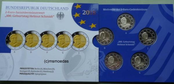 msmoedas deutschland brd 2 euro gedenkm nzen blister. Black Bedroom Furniture Sets. Home Design Ideas